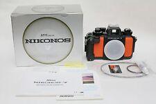 MINT Nikon Nikonos V underwater film 35mm camera body in box. Pressure tested.