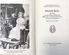 Edmund Burke - The Harvard Classics Deluxe Registered Edition - 1969