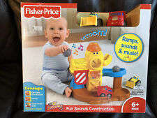 Fisher Price Lil Zoomers Fun Sounds Contruction W2047 Develop & Learn