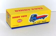 DINKY Reproduction Box 432 (512) Guy flat Truck Repro