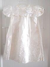 Vintage Infants Madonna Satin Christening Baptism Gown Dress Size 6 - 9 Months