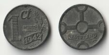 1942 Netherlands 1 cent coin