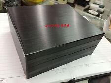 NEW Black DIY Aluminum Project Enclosure Box Electronic case_Big 160x145x68mm