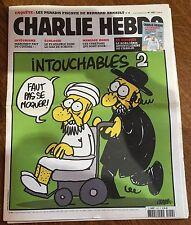 CHARLIE HEBDO N°1057 September 19 - 2012 - Very RARE - Muhammad Cartoon