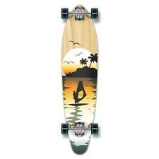 Yocaher Complete Surfer / Natural Kicktail Longboard