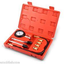 Kit Testeur de Compression Compressiomètre Moteur Essence Cylindre+Coffret NOIR