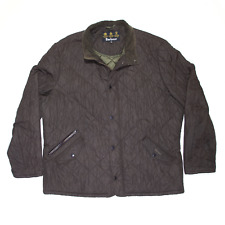 Vintage BARBOUR Chelsea Sports Green Regular Quilted Jacket Mens 2XL