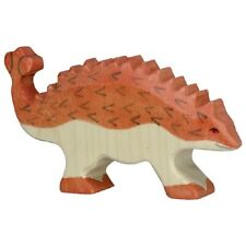 Holztiger 80341 Ankylosaurus 11 cm Holzfiguren Serie Dinowelt