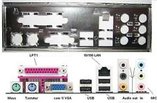 ATX Blende I/O shield ASRock 4CoreDual-VSTA #4 AM2NF3-VSTA N68-GE3 UCC io NEU