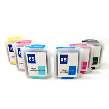 HP 84 85 Refillable Ink Cartridge Set for DesignJet 30 30n 90 90gp 90n 130 130gp