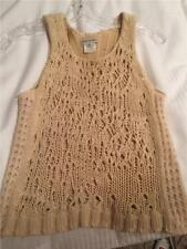 Dries Van Noten Creme Knit Sweater Size Small