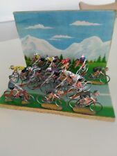 JOUET ANCIEN COFALU SALZA LOT CYCLE VELO DERNY TOUR DE FRANCE COUREUR CYCLISTE