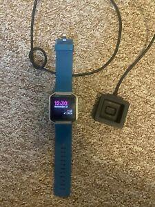 Fitbit Blaze Smart Fitness Tracker Watch - Blue