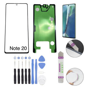 Front Glass Screen Replacement Only with Tools Kit For Samsung Galaxy Note 20