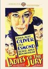 Ladies of the Jury 1932 (DVD) Edna May Oliver, Jill Esmond, Rosco Ates - New!