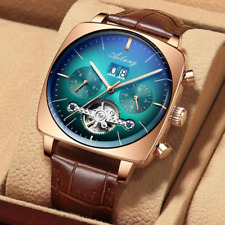 Ailang swiss Wristwatch mechanical automatic chronograph Square Large Dial Watch