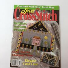 Just Cross Stitch Magazine October 2003 Autumn Projects Precious Moments
