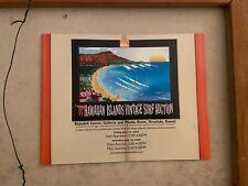 Hawaiian Islands Vintage Surf Auction 2009 Surf Program Mint vintage surfboards