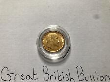 More details for 1910 gold half sovereign edward vii