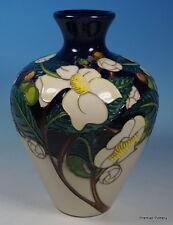 A MOORCROFT 2017 China Collection Camellia Flower Ltd Ed 50 Vase 03/7 RRP £575