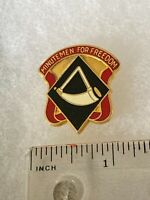Authentic US Army 111th Engineer Brigade DI DUI Unit Crest Insignia S-21
