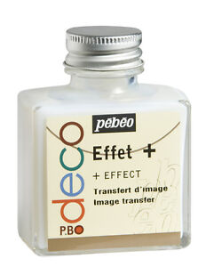 Pebeo Deco Image Transfer 75ml - Transfer Photos to Wood, Metal, Card, Plaster