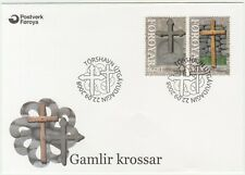 Faroe Islands 2008 Christmas, Ancient Crosses, First Day Cover
