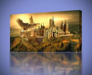Hogwarts Harry Potter CANVAS PRINT Wall Art Decor Giclee *4 Sizes* CA139
