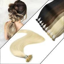 woman hair Nano Ring Quality Luxury Easy Fusion Keratin Human Hair Extensions