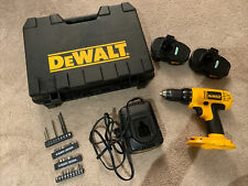 Dewalt Dc970 with two batteries, two chargers, case And Parts