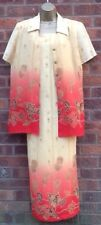 Jacques Vert Dress and Top Dress Size 14 Top Size 12