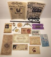 Harry Potter Halloween Costume Props Cosplay Wand Marauders Map Snitch Hogwarts
