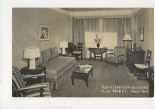 Apartment Hotel Marcy New York Vintage USA Postcard 510a