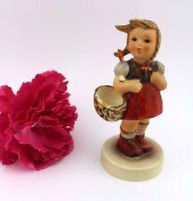 "Orig Hummel Figur 96  "" GRETEL "" Goebel Porzellan old FM 3 Little shoper KORB"
