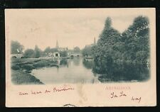 Berkshire Berks ABINGDON River view Used 1902 u/b PPC Wrench Series