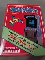 ZAXXON for ATARI 2600 Video Game System NIB.... FREE SHIPPING...