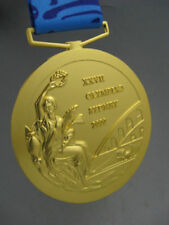 2000 Sydney Olympic 'Gold' Medal with Silk Ribbons **Free Shipping**