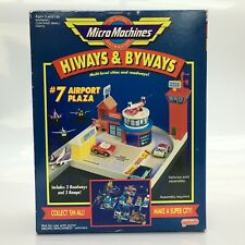 MICRO MACHINES 1992 HIWAYS & BYWAYS #7 AIRPORT PLAZA PLAYSET