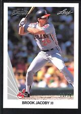 BOOK JACOBY 2012 LEAF MEMORIES 1990 BUY BACK SILVER  #74 INDIANS SP #15/20