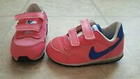 Toddler Girls Nike Brand Athletic Shoes Size sneakers pink / blue  7C