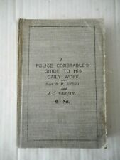More details for  police constable's guide to offences & action manual  book 1919 london rare*