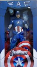 "CAPTAIN AMERICA The Avengers Limited Edition 18"" inch 1/4 Scale Figure Neca 2013"