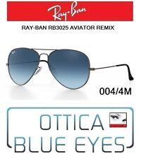 Ray-ban Uomo Occhiali da sole Aviator Rb3025 Grigio One Size