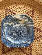 Johnson Brothers Stage Coach Scene Ironstone Ware Wall Plate