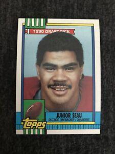1990 Topps Set Break # 381 Junior Seau Near Mint-mint. San Diego Chargers