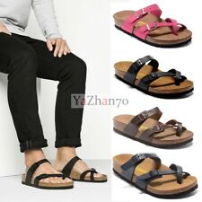 Birkenstock Mayari Birko Flor Sandals Women's Shoes Mens Slides Sole Block 35-44