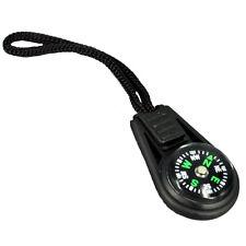 5 X Zipper Pull Mini Compass Backpack Bag Strap Camping New
