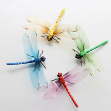 Plastic 3D Dragonfly Fridge Magnet Sticker Refrigerator DIY Decoration Craft