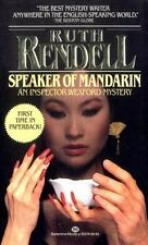 An Inspector Wexford Mystery: Speaker of Mandarin Bk. 12 by Ruth Rendell (1984,