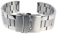 Minott Ersatzband Uhrenarmband Edelstahl Band Silberfarben matt 18mm SG-25361